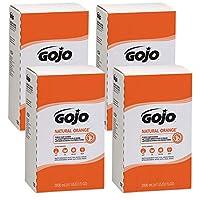 GOJO NATURAL ORANGE Pumice Hand Cleaner 2000 mL Refill for GOJO PRO TDX Dispenser