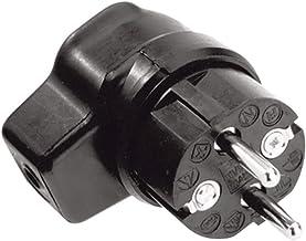 Bachmann 919171, volledig rubberen hoekstekker, zwart