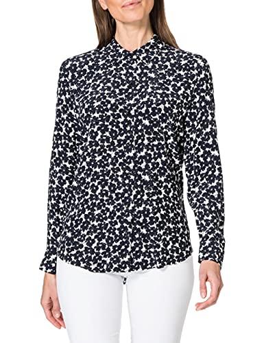 Tommy Hilfiger Viscose CDC Regular Blouse LS Camisa para Mujer