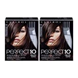 Clairol Nice'n Easy Perfect 10 Permanent Hair Color, 5A Medium Ash Brown, Pack of 2