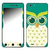 Disagu SF-106881_1015 Design Folie für Switel eSmart H1 - Motiv Eulengesicht grün