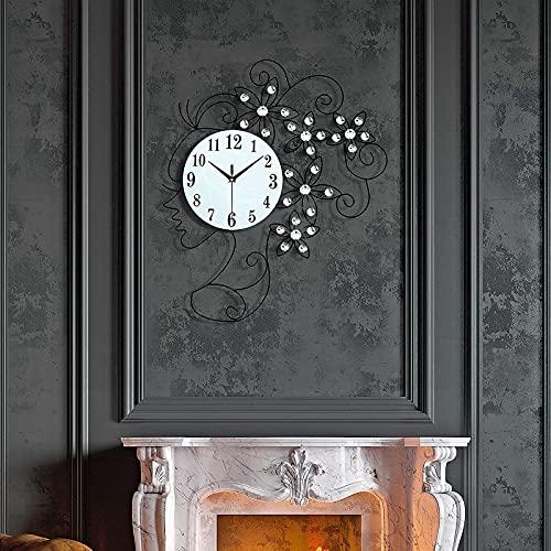 FANTIA Large Art Wall Clock-Iron Art