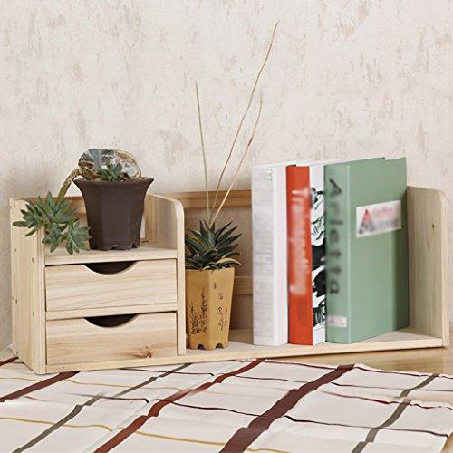 FZN Le Support Simple de Stockage de Table Multicouche d'étagères en Bois Solide avec de Petits Ornements de tiroir Pots de Fleurs (Couleur : #2, Style : A)