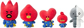 BT21 Official Merchandise by Line Friends - TATA Universtar Series Character Stuffed Plush Toy Figure Set