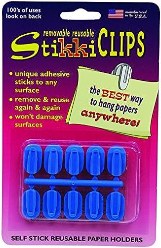 DIE STIKKIWORKS CO STK01135 STIKKICLIPS Blau 10 PACK