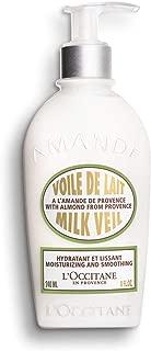 L'Occitane Illuminating & Nourishing Almond Milk Veil Body Lotion, 8 fl. oz.