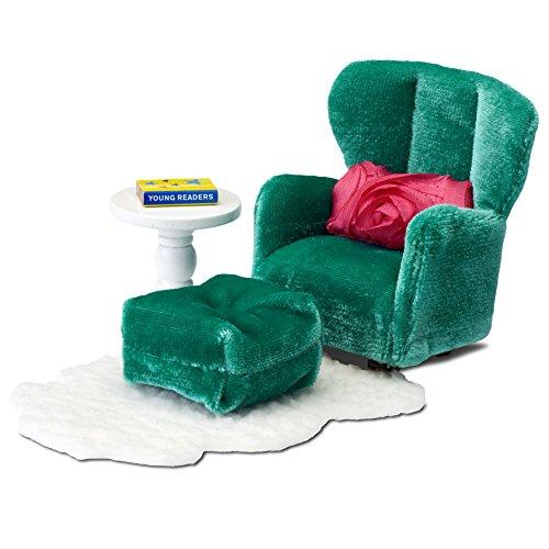 Lundby 60.2093.00 - Sessel und Schemel, Minipuppen mit Zubehör