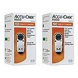 Cassette de prueba móvil Accu Chek 1x50 (paquete de 2)