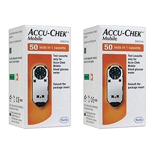Accu-Chek Mobile Testkassette 1 x 50 (2 Packungen)