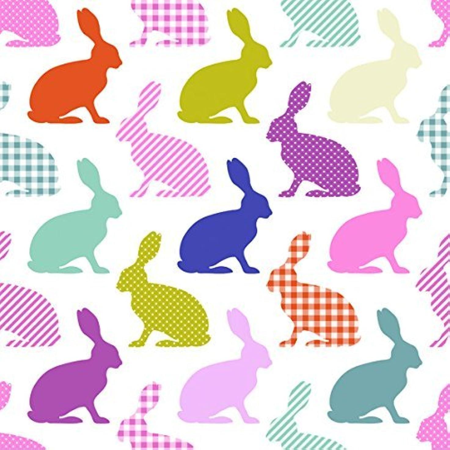 行進部門お嬢Daisy ポーランド製 ペーパーナプキン ウサギ