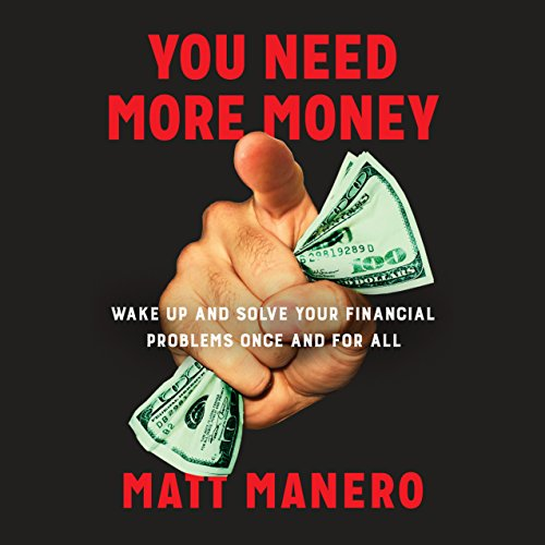 You Need More Money audiobook cover art
