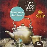Ship con 15 Pirámides Té verde moruno con Hierbabuena TES DEL MUNDO, SHIP