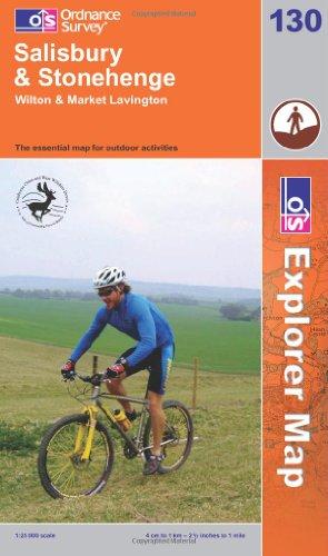 OS Explorer map 130 : Salisbury & Stonehenge
