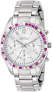 Caravelle New York by Bulova Women's 43L172 Analog Display Japanese Quartz White Watch