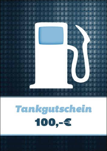 Im 5er Set: Cooler Tankgutschein (Blanko)/ Geschenkkarte mit Zapfsäule über 100 Euro zum Führerschein, für Spritztouren & Reisekosten - nicht vergessen Geld bei zu legen :)