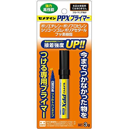 セメダイン 瞬間接着剤用プライマー PPXプライマー CA-086 3g