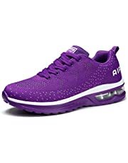 STQ Women's Running Shoes Breathable Air Cushion Sneakers