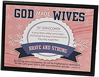Abbey Gift Military Wives Plaque
