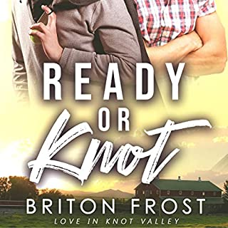 Ready or Knot (An MM Mpreg Romance) audiobook cover art