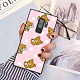 Animals Bear Rilakkuma Phone Case Compatible with Galaxy S9 Plus (2018) (6.2')
