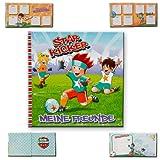 Fußball Freundebuch 'Star Kicker' / Größe: ca. 16 x 16cm