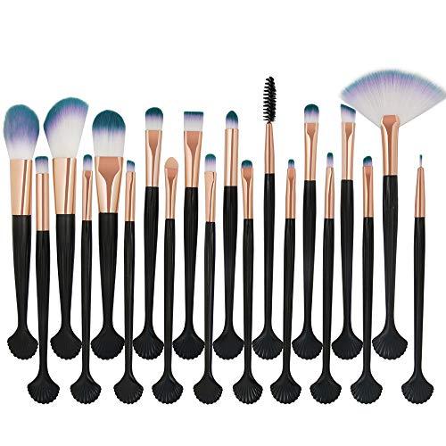 YCQUE 20 stücke Täglichen Kosmetik Make-Up Pinsel Set Rouge Lidschatten Pinsel Set Kit Foundation...