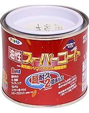 アサヒペン 油性スーパーコート 1/5L ミルキーホワイト