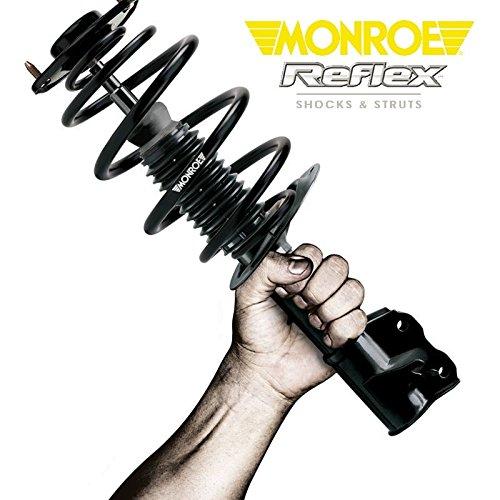 Par Amortiguadores traseros originales Monroe Reflex reforzadas E1057