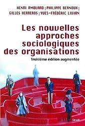 Les Nouvelles approches sociologiques des organisations de Henri Amblard