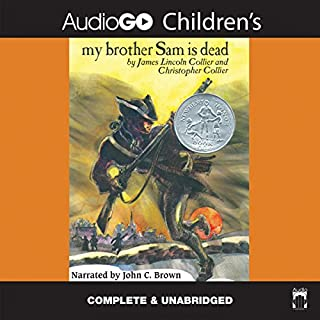 My Brother Sam Is Dead audiobook cover art