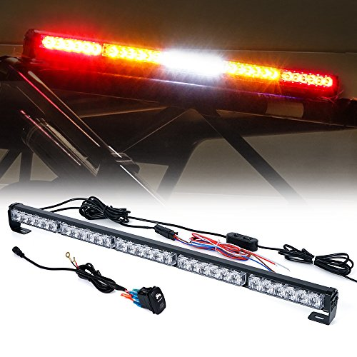 "Xprite 30"" Offroad LED Rear Chase Strobe Light bar w/Brake Reverse Turn Signal Light for Polaris RZR XP 1000 900, UTV, ATV, Side by Sides, 4x4, Trophy Truck - RZ Series RYWYR"