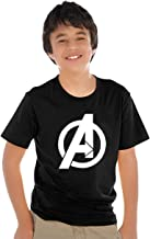 WearIndia Superhero Printed Half Sleeve Round Neck Boys Cotton T Shirt