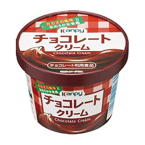 カンピー 紙カップ チョコレートクリーム 140g×6個入×(2ケース)