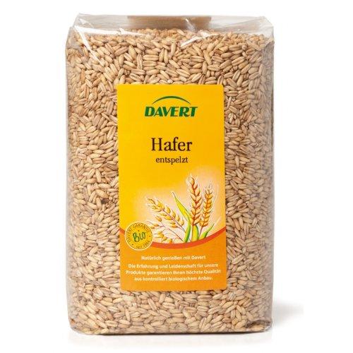 Davert, Haferkerne (entspelzt), 1kg. 1er Pack