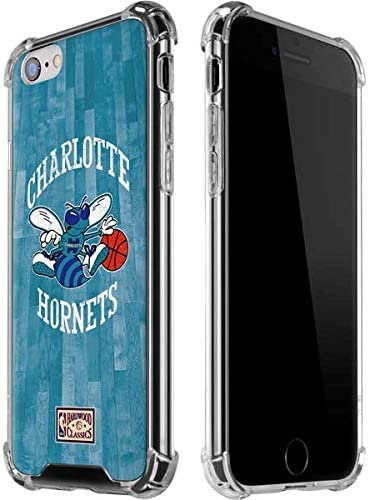 Skinit Clear Phone Case Compatible with iPhone 6 6s Officially Licensed NBA Charlotte Hornets product image