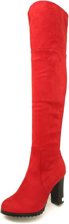 1TO9 MNS03291, Seali con Zeppa Donna, Rosso (rosso), 35 EU