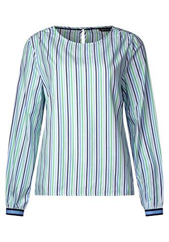 Street One gestreepte blouse in Spring Green