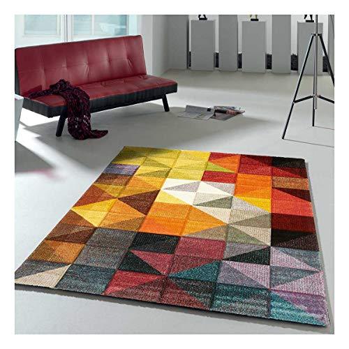 UN AMOUR DE TAPIS 60x110 MARIX - - Tapis Moderne Design Tapis Salon et entrée - Tapis Multicolor - Couleurs et Tailles Disponibles