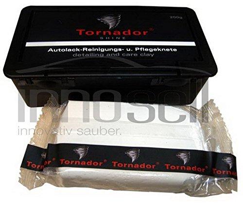 REINIGUNGSKNETE TORNADOR SHINE WEIß 200G IN KUNSTSTOFFBOX