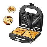 LTLCLZ Multifunktions-Waffeleisen Sandwich Maker Antihaftbeschichtete Platten,Automatische...