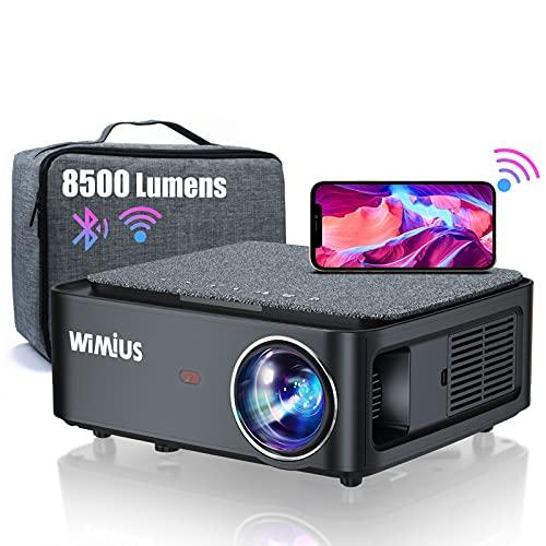 Vidéoprojecteur WiFi Bluetooth Full HD 1080P, 8500 Lumens...