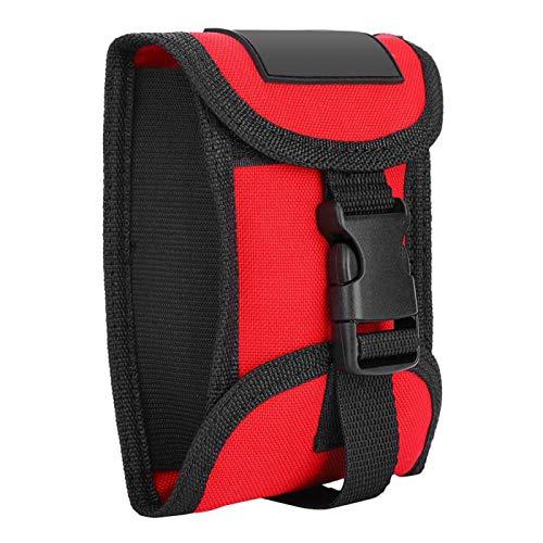 Bolsa de bolsillo de contrapeso con ajuste de buceo de 3 kg con hebilla de liberación rápida(rojo)