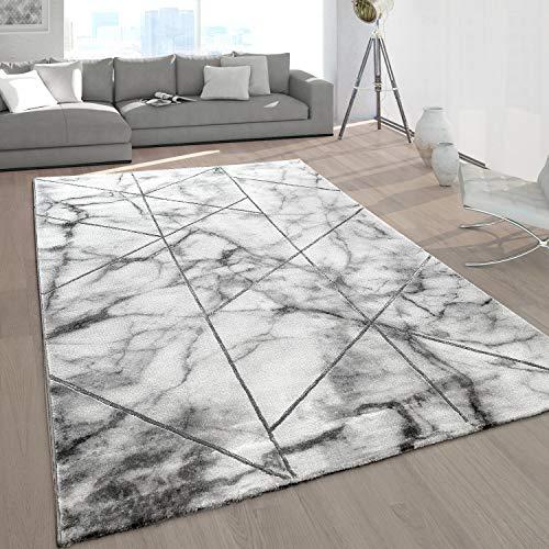 Alfombras Dormitorio Pelo Corto Color Plata alfombras dormitorio  Marca Paco Home