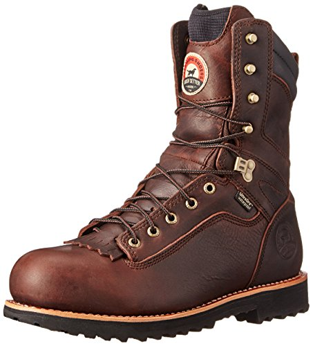 "Irish Setter Men's 83826 9"" Aluminum Toe Work Boot,Brown,9 D US"