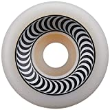 Spitfire 99D OG Classic Skateboard Wheels - Set of 4 (Black/White, 54mm)