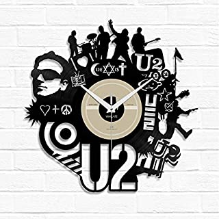 Reloj diseño LP U2