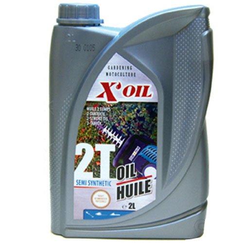2 tempi olio sintetico semi X'OIL API (TC, 2 litri
