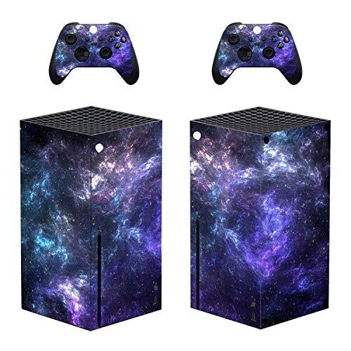 YIBAO Carcasa Xbox Serie X, Consola Xbox Serie X Y 2 Pegatinas Adhesivas para El Controlador. Fácil De Operar, Material Esmerilado, Sin Residuos De Pegamento, Sin Daños En La Superficie De La Xbox.