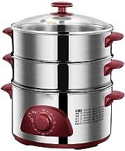 DYB Casserole électrique avec cuiseur à Vapeur et Prise américaine, cuisinière électrique , Cuiseur à Vapeur électrique à ...