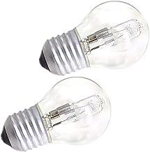 FRCOLOR 2 Pieces Oven Light Bulb E27 Oven Bulb High Temperature Halogen Lamp 42w Heat- Resistant Incandescent Light Bulbs ...